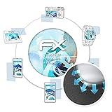 atFolix Schutzfolie passend für Allview P8 Energy Pro Folie, ultraklare & Flexible FX Bildschirmschutzfolie (3X)