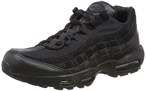 Nike Men's Air Max 95 PRM Gymnastics Shoes, Black