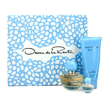 Oscar De La Renta Something Blue Coffret: Eau De Parfum Spray 50ml + Body Lotion 100ml + Eau De Parfum Miniature 4ml 3pcs - 4 Ml Eau De Parfum Spray
