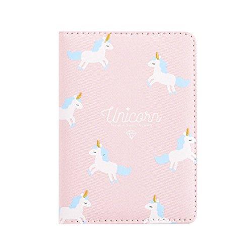 TOYMYTOY Taccuino disegno di Unicorno Colorato Originale Quaderno Diario per ragazze (Rosa)