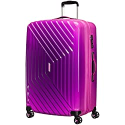 American Tourister Air Force 1 Spinner 76/28 Tsa Expansible Grad Maleta, 111 Litros, Color Rosa (Gradient Pink)