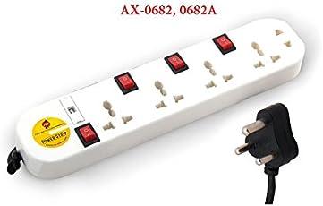Power strip 5 way individual switch