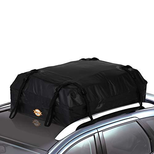 SAILNOVO Tasche von Dach Auto Dachbox Auto Schwarz Weich 15 Füße Cubes für Auto