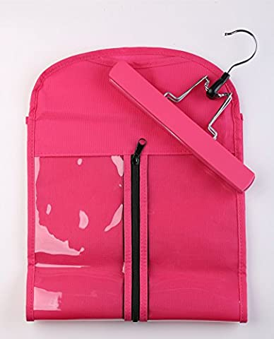 Hair Extensions Hanger + Dust-proof Protection Carrier Suit Case Bag