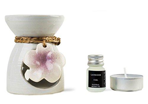blumen-duftlampe-aus-keramik-mit-lavendel-duftol-boxset-10cm-x-8cm