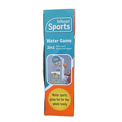 Georgie Porgy Portable Kids Football Goal Door Gate Baby Soccer Ball Pump Indoor and Outdoor Sports  Water game set
