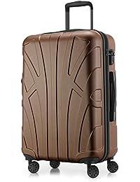 SUITLINE Handgepäck Hartschalen-Koffer Koffer Trolley Rollkoffer Reisekoffer, TSA, Bagage cabine