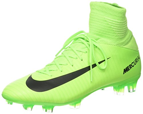 Nike Unisex-Kinder Mercurial Superfly V FG Fußballschuhe, Grün (Electric Green/Flash Lime/White/Black), 36 EU (Grün-flash-schuhe)