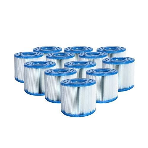 Intex 12x Filter H Kartuschen Ersatzfilter Filterkartuschen für Pumpe 29007