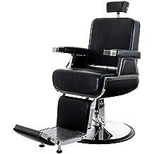fauteuil barbier ciliego ii ska noir mobilier by gouiran equipement coiffure - Fauteuil Barbier Belmont