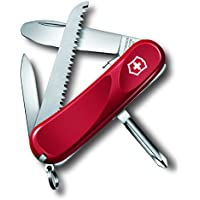 Victorinox 2.4213.SKE Wenger Junior 09 Couteau suisse Rouge