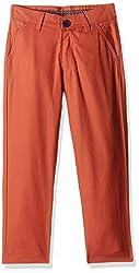 612 League Boys Trousers (ILW00S120005 C_Orange_Sr 13-14Y)