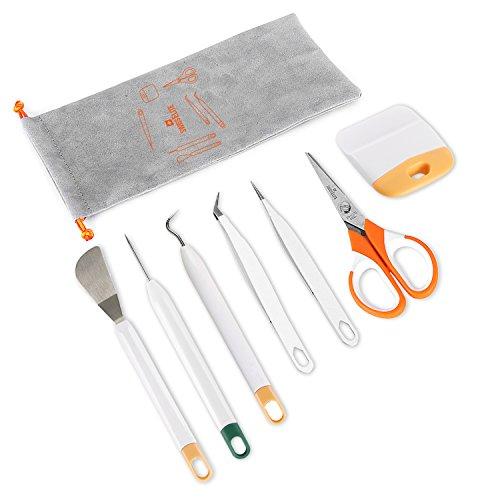 Craft Jäten Werkzeug Set - Handwerk Tasche Jäten Tools mit für Vinyl von swisselite