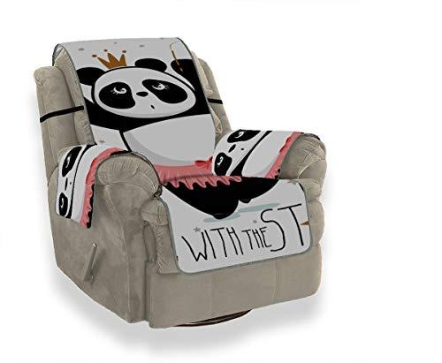 Rtosd Tanzen Lustige Riesenpanda Schonbezug Für Stuhl Sofa Couch Kissen Sitzen Stuhl Schonbezug Möbel Beschützer Für Haustiere Kinder Katzen Sofa