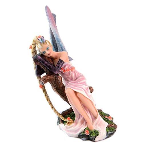 ecb05c40a Les Trésors De Lily P5762 - Figurine 'Fairy Dreams' fairy with long magic  braid - 28x17.5 cm (11.02''x6.89'').