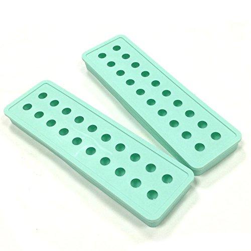 (2er-Set) MINI Silikon 20 Kavitäten Ice Ball Form Eiswürfelschale - DIY Mold für Kinder mit...