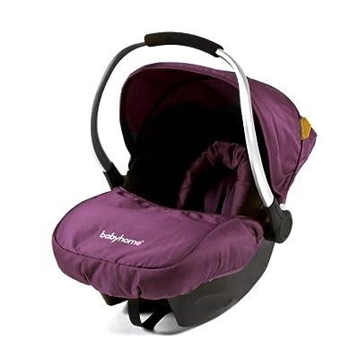 Babyhome Egg0+ - Silla de coche, grupo 0+, color purpura