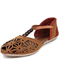 Zaak Women's Brown PVC Shoes