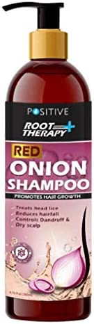 Positive Root Therapy + Red Onion Shampoo For Hair, 200 ml