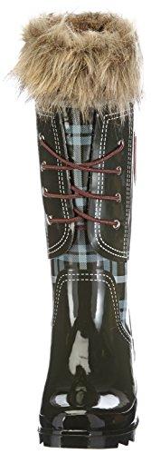 Giesswein Zwaring 47511, Stivali in gomma donna Rosso (Grey 01)