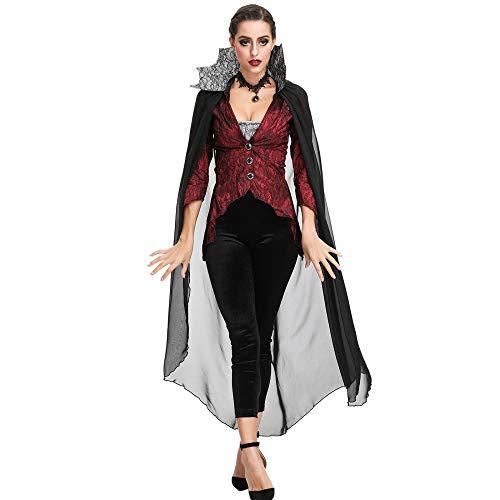 NCY Halloween Cosplay Königin Palast Auferstehung Hexe Zombie Teufel Vampir Sensenmann Damen Bühnenkostüm Tag Der - Tag Der Toten Teufel Kostüm