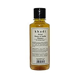 Khadi Herbal Honey & Vanilla Shampoo - 210ml