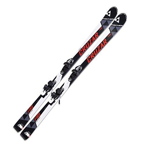 Ski Fischer Cruzar Fire FP9 155cm On Piste Rocker inkl. Bindung RS10 PR auf Amazon