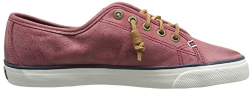 Sperry Seacoast Weathered & Worn, Baskets Pour Femme Rouge