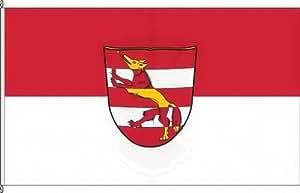Königsbanner Hissflagge Fuchsstadt - 60 x 90cm - Flagge und Fahne