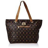 BHPC Womens Tote Bag, BROWN/TAN - BHVA2686