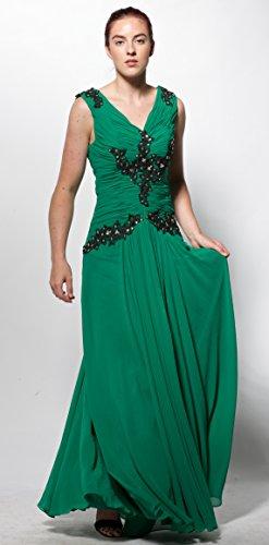 atopdress - Robe - Sans Manche - Femme Vert Vert Vert - Vert