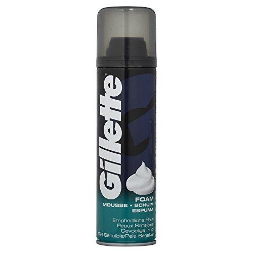 Produktbild Gillette Basis Rasierschaum für empfindliche Haut, 200 ml
