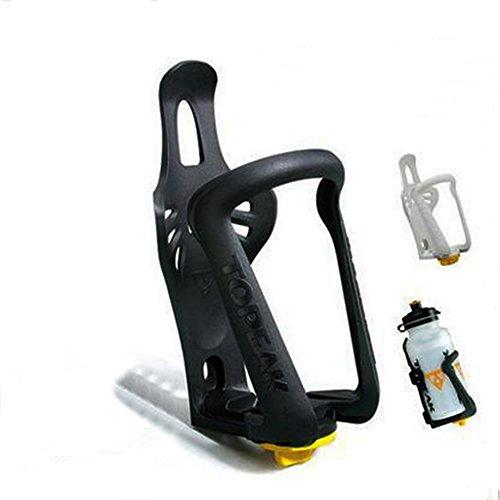 Soccik Wasserflaschenhalter Kunststoff Flaschenhalter Fahrrad Flaschenhalter Leichtgewichtige Haltbare Flaschenhalterung fürs Fahrrad Fahrradhalterung für Wasserflaschen 7,3x8,5x16,5cm zufällige Farbe