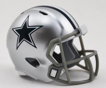 Riddell Speed Pocket American-Football-Helm, mit Logo des NFL-Teams Dallas Cowboys