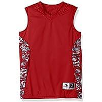 Augusta Sportswear Boys' Hook Shot Reversible Jersey S Red/Red Digi