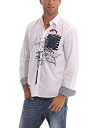Desigual - in china - chemise casual - coupe droite - homme