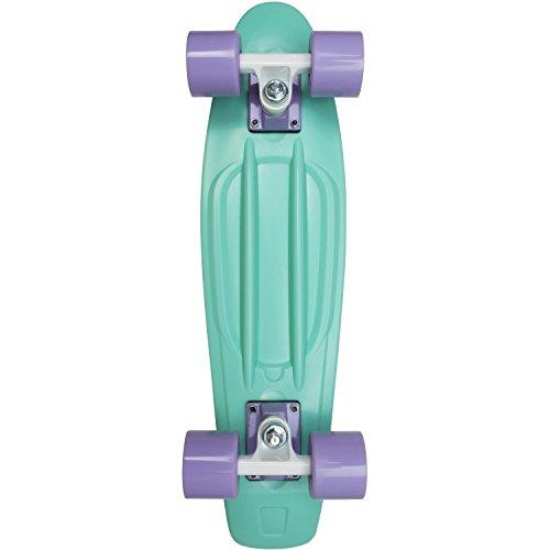 AREA Skateboard-Komplettset türkis Einheitsgröße