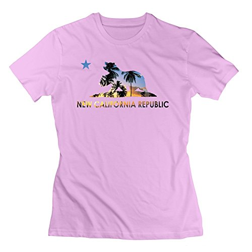 HDaiJun Damen T-Shirt Gr. xl, Rosa - Pink