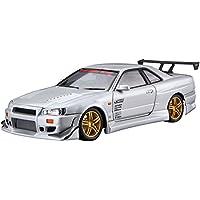 2002 Nissan Skyline GT-R R34 JDM Tuners Schwarz Black 1:32 Jada Toys 99136