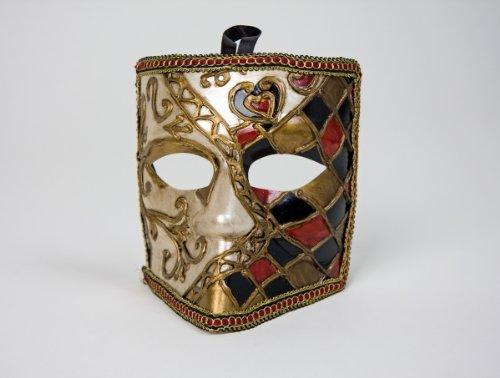 Bauta Kostüm Maske (venezianische Maske Bauta zum Kostüm an Karneval und)