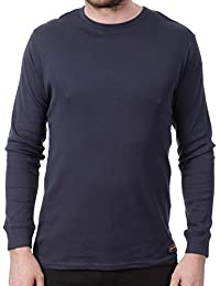 Camiseta de manda larga Jesse James Sturdy Work Azuloscuro