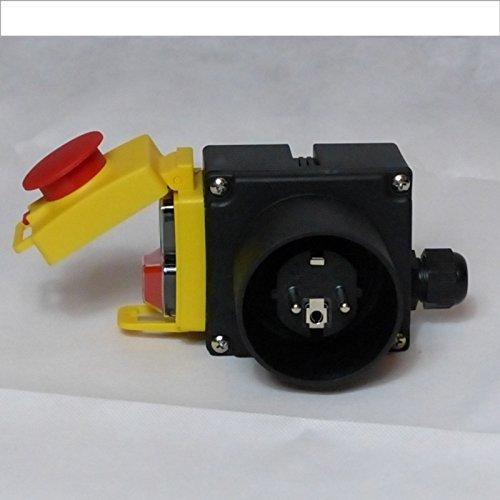 BUZE Orginal KEDU KOA7 Schalter 230V mit Notaus, Thermoschalter Anschluss, Unterspannungsauslöser