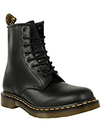 Dr Martens Chaussures - 1460 8–Chaussures Bottes lisse cheville dessus en cuir à lacets