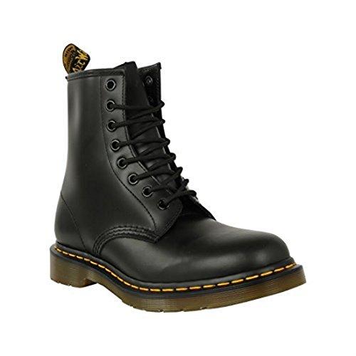 Nero Stivali In Scarpe Liscia Di Martens top 1460 Pelle Stivaletti Pizzo Dr 8 Oq7Pn56Pt