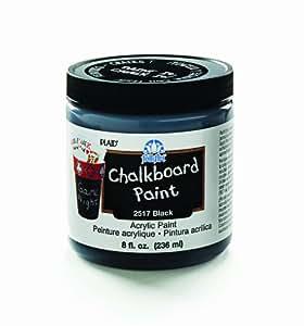 Plaid:Craft Paint Folkart Chalkboard Paint 8 Oz-Black