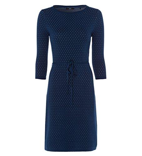 zero Damen Kleid mit Wollanteil 313601 petrol blue 38