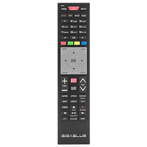 GigaBlue UHD 4  K Receiver with 2  x DVB-S2  FBC and 1x DVB-C T2   H 265  Tuner Satellite Receiver with Babo Tech WLAN Stick