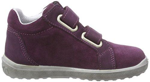 Ricosta Sandrine Mädchen Hohe Sneakers Pink (merlot 369)