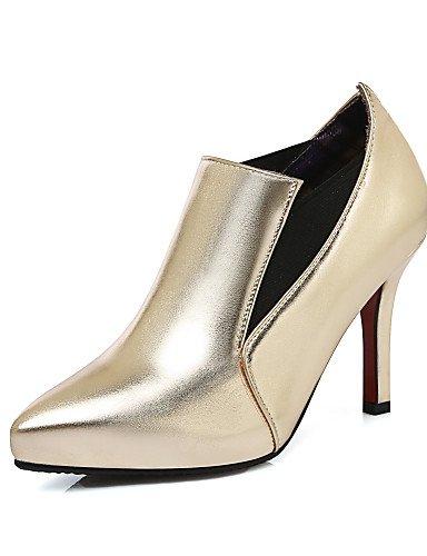 WSS 2016 Chaussures Femme-Habillé / Soirée & Evénement-Rouge / Argent / Or / Champagne-Talon Aiguille-Talons / Bout Pointu-Talons-Similicuir red-us5 / eu35 / uk3 / cn34