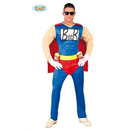 Beerman Superheld Herren Kostüm Gr. M - XL, (Tolle Superhelden Kostüme)